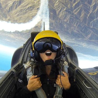 piloter avion de chasse