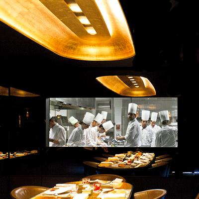 La table du Chef Alain Ducasse