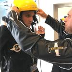 briefing imitation pilote de chasse