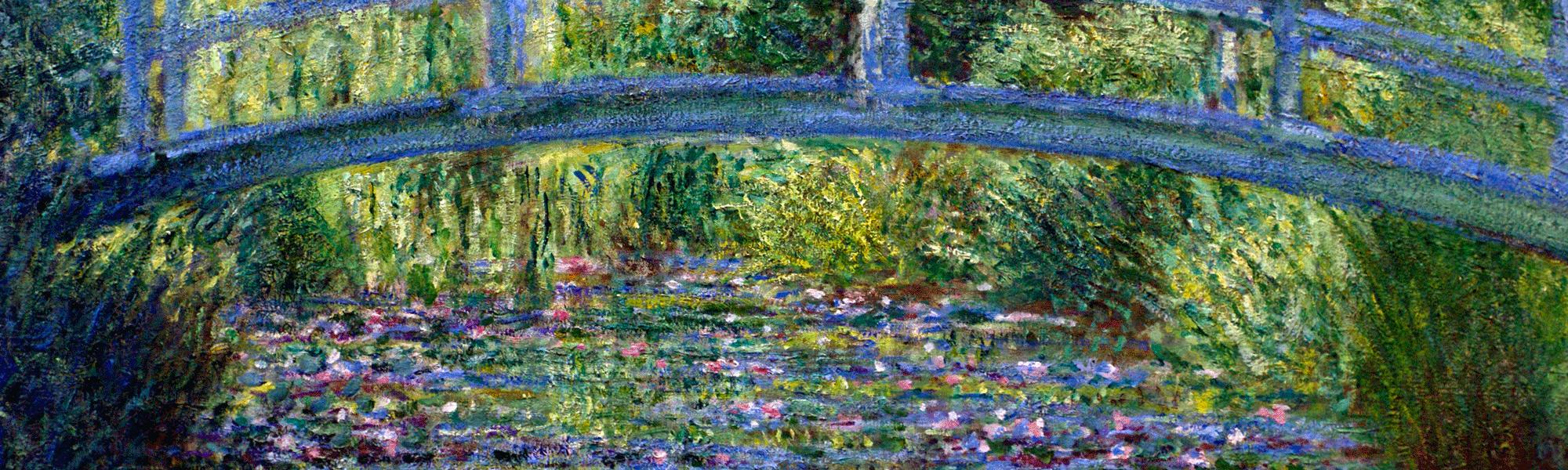 tableau Givrent Claude Monet
