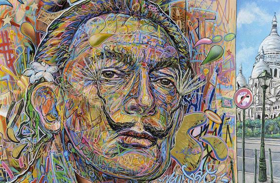 visite street art paris montmartre