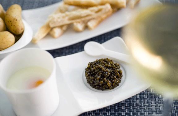Le Caviar de l'eau à la bouche...