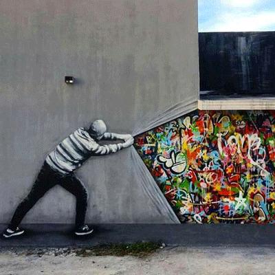 visite artistique montmartre street art
