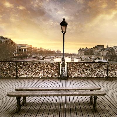 paris ville romantique