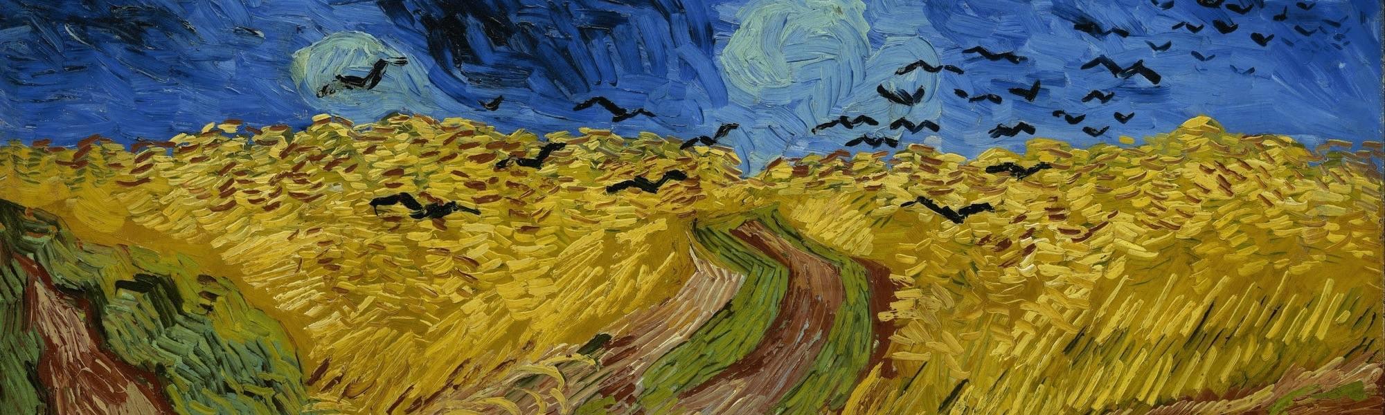 tableau Auvers sur Oise Champs de blé par Vincent Van Gogh